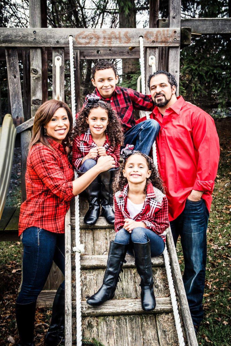 Brenneman Toledo Family Portrait