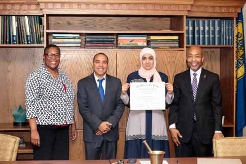 University of Toledo Pharmacy Signing Event