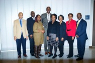 Dr. Tweedy and UT Faculty a& staff