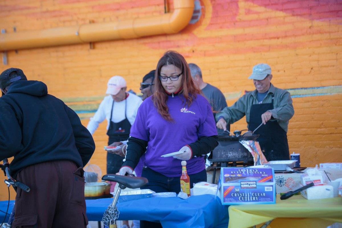 Toledo Ohio YOP volunteer